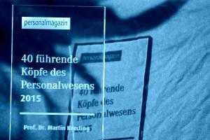 Personalmagazin 40 führende Köpfe HR